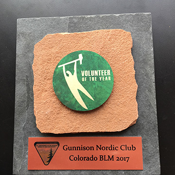 BLM Volunteer of the Year Award 2018